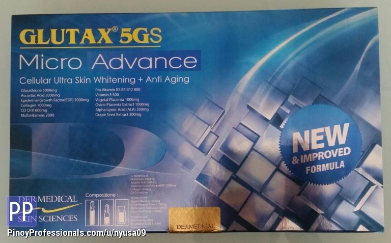 Health and Beauty - GLUTAX 5GS MICRO ADVANCE PHP4,500