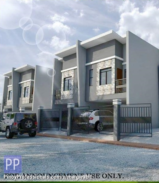 House for Sale - Affordable Townhouse Marikina City P3.550M, 3BR, 2T&, 1CG
