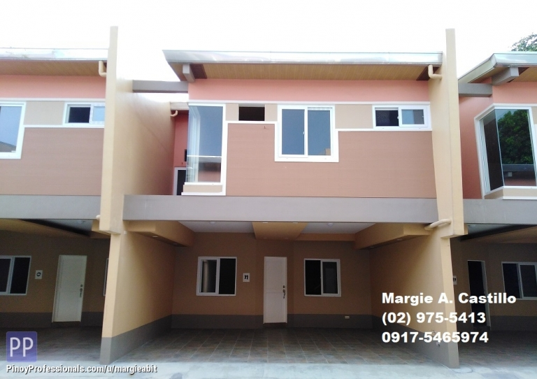 House for Sale - Newly Built 4Bedrooms, 2Garage Townhouse Marikina Hgts. Near St. Scho P5.9M Flood Safe