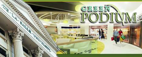 Office and Commercial Real Estate - THE GREEN PODIUM, COMMERCIAL SPACES FOR SALE NEAR SCHOOL, DLSU-TAFT