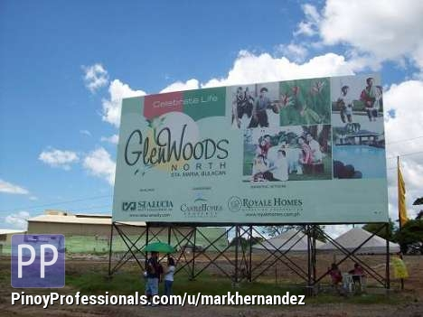 Land for Sale - GLENWOODS PARK RESIDENTIAL LOTS in its PRE-SELLING stage, Sta.Maria, Bulacan