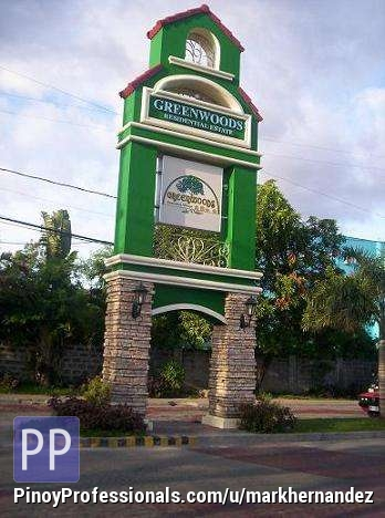 Land for Sale - GREENWOODS EXECUTIVE VILLAGE PASIG PHASE 6-H (a newly open expansion)