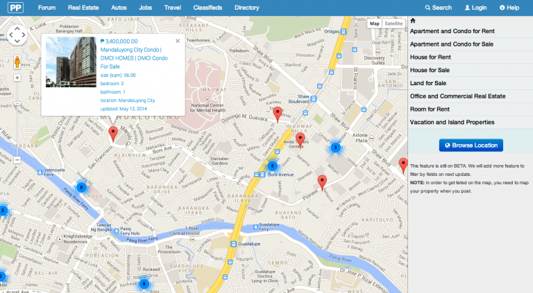 Blog - #WebsiteUpdate: Real Estate Property Map Browser Beta Released Today!