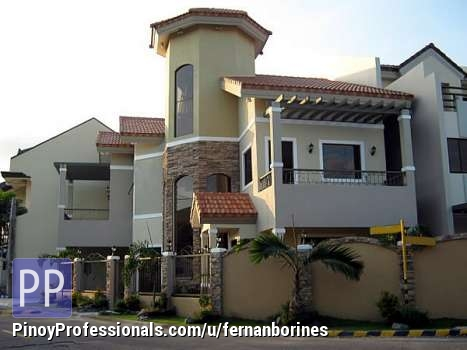 Trilevel mediterranean house for sale in bf homes Mediterranean homes for sale