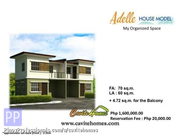 3 Br 2 Tb Adelle Townhouse Lancaster New City Cavite 15 Mins To Metro Manila Via Cavitex Just P13k Mo Real Estate House For Sale In Imus Cavite 26620 Pinoyprofessionals Com