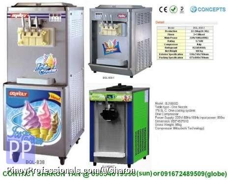 Soft Ice Cream Machine Business For