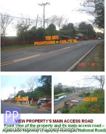 Land for Sale - Commercial-Tourism Development Site along Tagaytay Highway