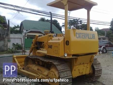 Misc Autos - Bulldozer D4E