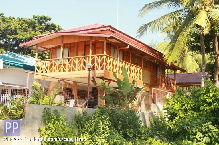 5br rest house stands on 810sqm beach front lot for Beach rest house design
