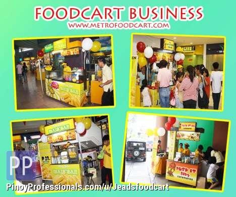 Foodcart Business( Jr cart, Mall Cart, 2and1 cart, 3and1 cart) P10,000