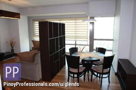 Apartment and Condo for Rent - The Residences at Greenbelt, San Lorenzo Tower: 2-BR, Fully Furnished, P130k/mo. incl. dues