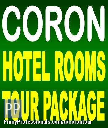 Hotels and Lodging - CORON HOTEL ROOM RATES: PhP 400/600/800/1900