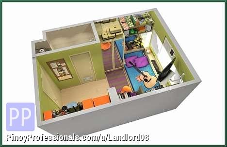 Northgate cyberzone studio two condominium unit for sale for Studio type apartment design philippines